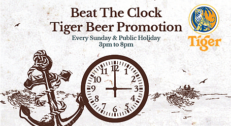 Beat The Clock Tiger Beer Promotion